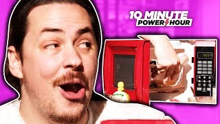 Cooking Recipes from a MICROWAVE Cookbook! - Ten Minute Power Hour