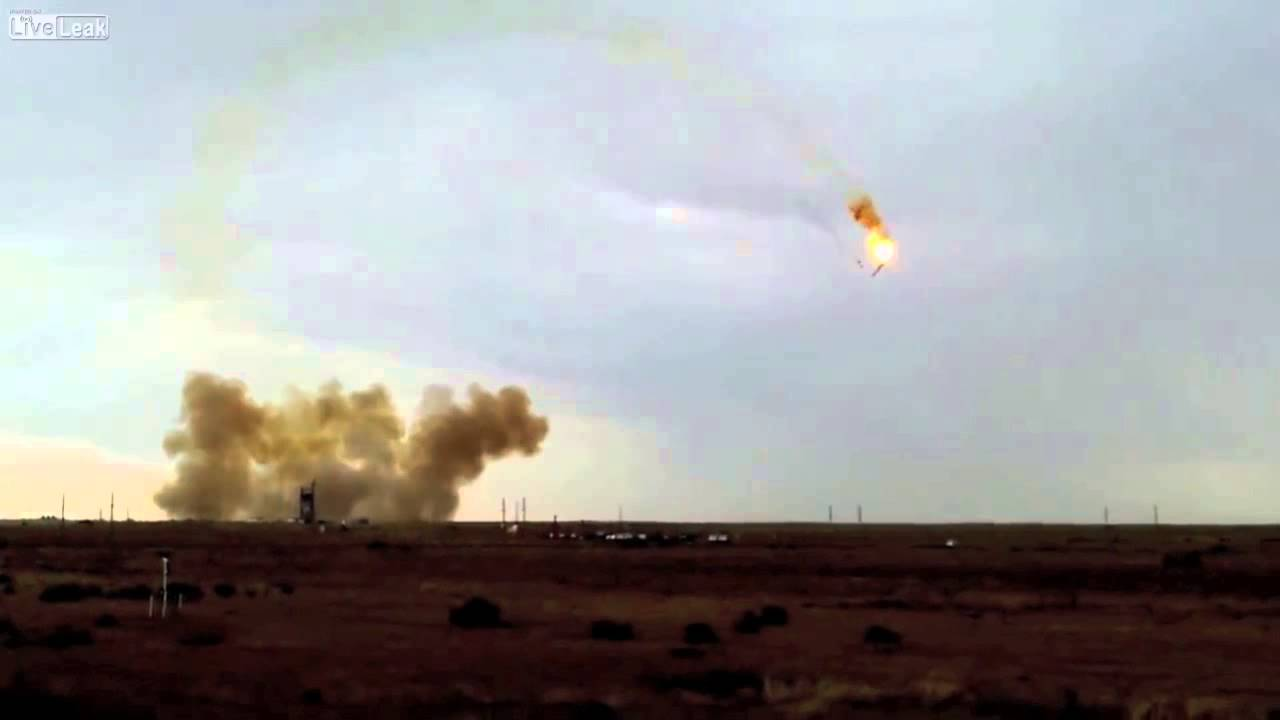 Here's That Russian Rocket Explosion Without The Audio Delay