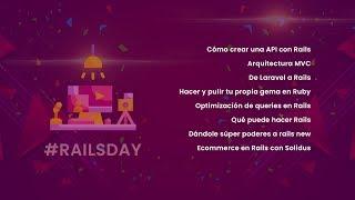 #RailsDay en vivo - Pláticas gratuitas de Ruby on Rails