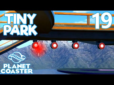Planet Coaster TINY PARK - Part 19 - BRAND NEW RIDE