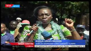 Martha Karua calls for dialogue between Opposition and government