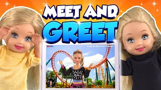Barbie - The Twin's First Meet and Greet | Ep.312