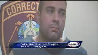 Police say man solicited sex on Craigslist