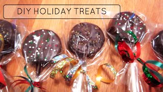 3 EASY DIY HOLIDAY/CHRISTMAS TREATS!