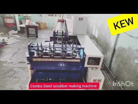 Scourer wire Drawing Machine