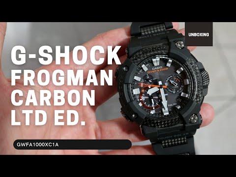 Casio G-Shock Frogman Carbon Fiber GWFA1000XC-1A