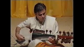 Evening Program, Eve of Guru Puja, Raag Rageshwari by Selim, Talk after Sarod Recital thumbnail