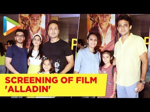 Celebs attend Special Screening of Disney Film 'Aladdin'