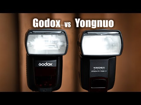 GODOX vs YONGNUO FLASH  |  TT685 or YN560 IV ?