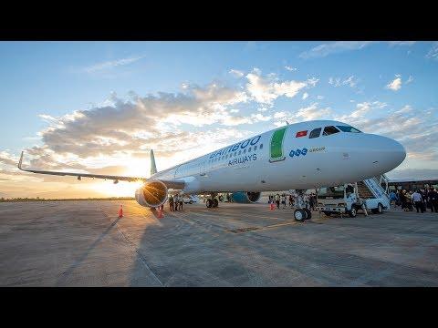 Lễ đón máy bay A321neo của Bamboo Airways