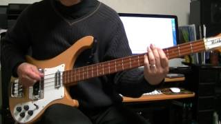 Everybody's Got Something To Hide Except Me And My Monkey The Beatles Bass Cover Rickenbacker 4001