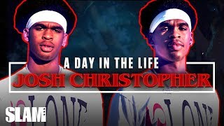 Pick Your Poison: Josh Christopher is a MONSTER in the Making 👾 | SLAM Day in the Life