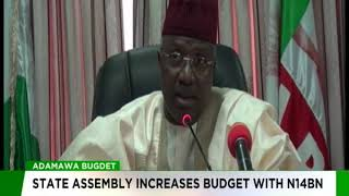 Adamawa Budget - State Assembly Increases Budget With N14BN