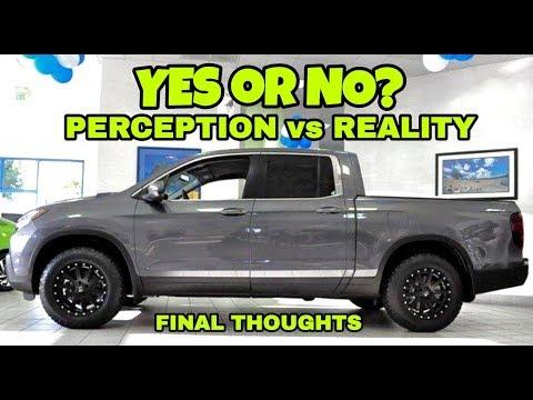Final Thoughts: Truck Perception vs Reality! 2018 Ridgeline