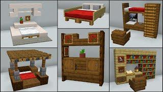 Minecraft: 40+ Bedroom Build Hacks And Ideas
