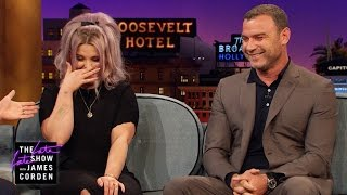 Flirting Lessons for Kelly Osbourne w/ Liev Schreiber & James