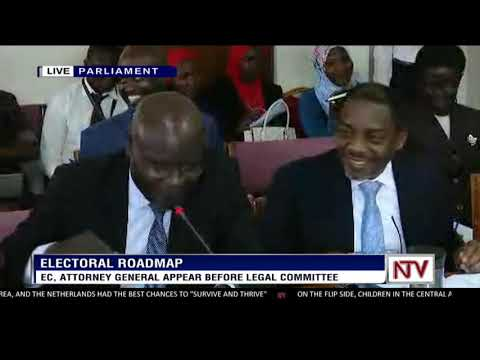 EC, Attorney General appear before legal committe