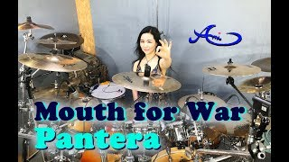 PANTERA - Mouth for War drum cover by Ami Kim (#50)