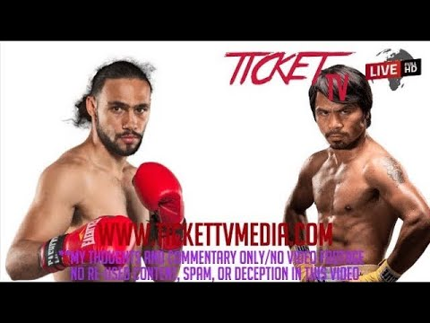 IT IS A SHAME THAT KEITH THURMAN IS ONLY GETTING $2.5 MILLION VS PACQUIAO IN MY OPINION!