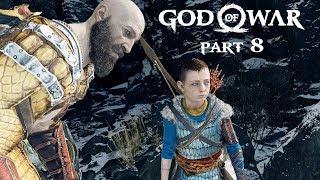 God Of War Walkthrough Part 8 - Inside The Mountain | PS4 Pro Gameplay