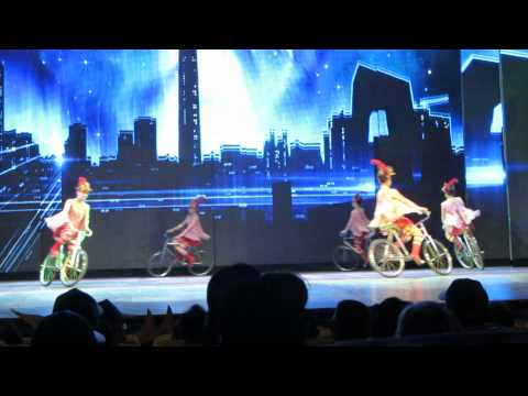 Acrobatic Show - The Chaoyang Theatre, Beijing - Bikes
