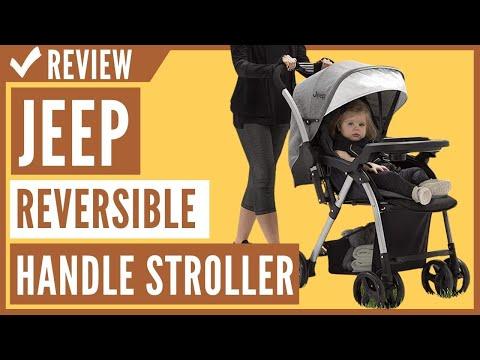 Jeep Unlimited Reversible Handle Stroller, Grey Tweed Review