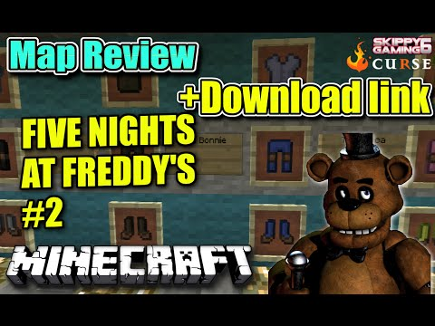 Minecraft Five Nights At Freddys 2 Demo Map [1 8 1