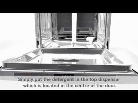 Bosch Built In 60 Cm Dishwasher Fully SMV40C00GB - Fully Integrated Video 1