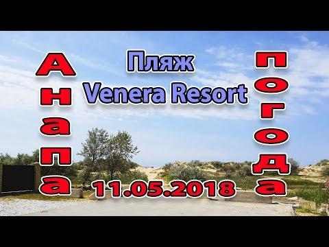 Анапа. Погода. 11.05.2018 браконьер на пляже Venera Resort