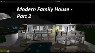 Roblox bloxburg speedbuilds ep 6 for Modern house 6 part 3