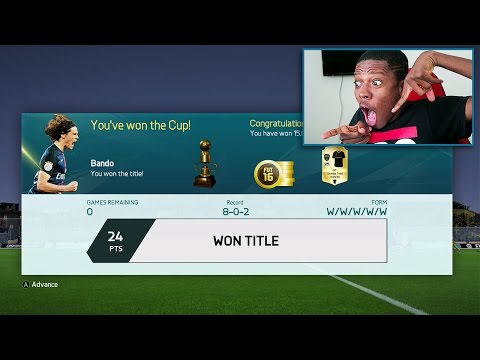 FIFA 16 - HOW TO WIN DIVISION 1 WITH A 100K TEAM !!!