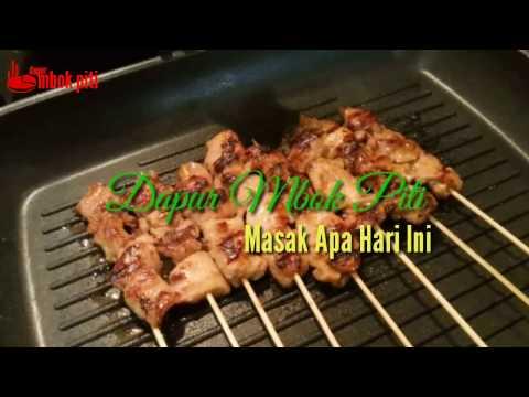 Video Resep Praktis memasak Sate Ayam di Musim Dingin