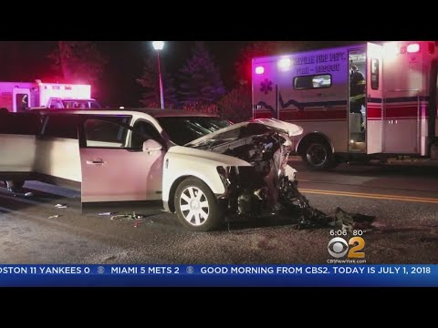 Limo Involved In Head-On Crash In Melville