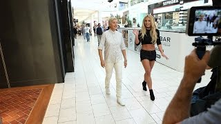 Ellen And Britney Spears Mall Mischief