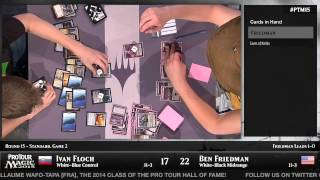 Pro Tour Magic 2015 - Round 15 (Standard) - Pat Cox vs. Jon Finkel