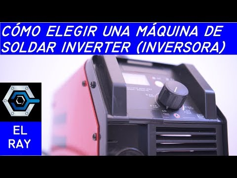 Cómo elegir una máquina de soldar inverter o inversora