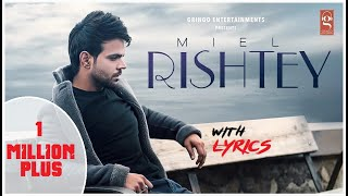Rishtey- Unofficial video song ! Lyric Monster ! Miel - YouTube