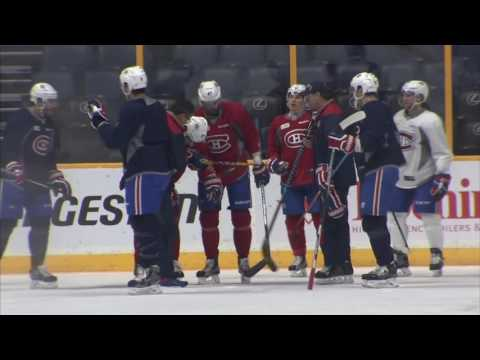 Gotta See It: Pacioretty has to be helped off the ice during practice