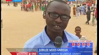 Uhuru, Ruto traverse Garissa county; Jubilee woos Garissa