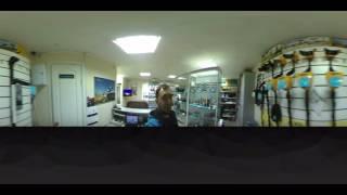 Съемка камерой Fly 360. панорамная съемка