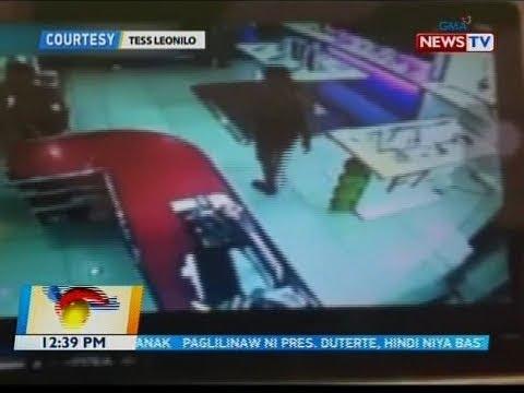 [GMA]  BT: Tangkang pagnanakaw ng cellphone, na-huli cam