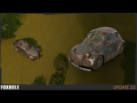 Player Statistics & Staff Cars - Foxhole (Update 25)