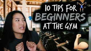 10 Tips for Beginners at the Gym | How to Start Working Out 💪🏽