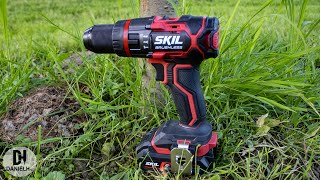 SKIL 3070 AA 'Brushless' cordless hammer drill unboxing and test