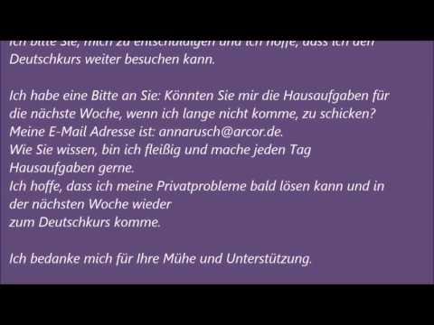 Deutsche Brief A1 A2 B1 Prüfung 42 музыка для машины