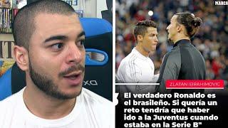 Zlatan se moque de Ronaldo (Interview de Zlatan Ibrahimovic)