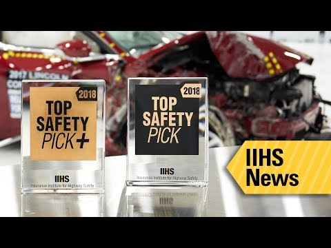 62 models meet tougher criteria to earn 2018 IIHS awards - IIHS News