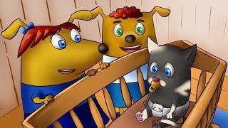 Щенки Бублик и Кисточка - мультики для детей. Семейка Собачек - мультики для малышей. 3 лучших серий