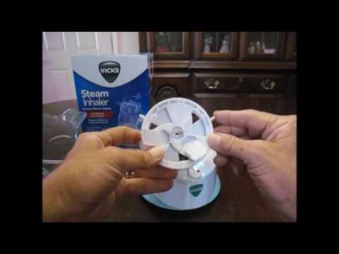 Inhalador personal de Vapor Vicks Nebulizador - MegaOutletVirtual.com
