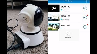 Easy Connecting Baby Monitor Ounice Wireless 720P  IP Camera To Mobile Phone